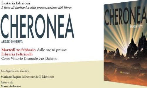 Cheronea, il nuovo libro di Bruno de Filippis