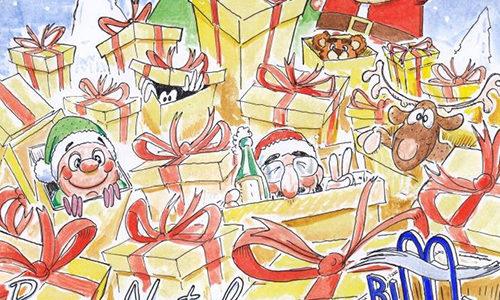Auguri di Buon Natale e Felice 2019